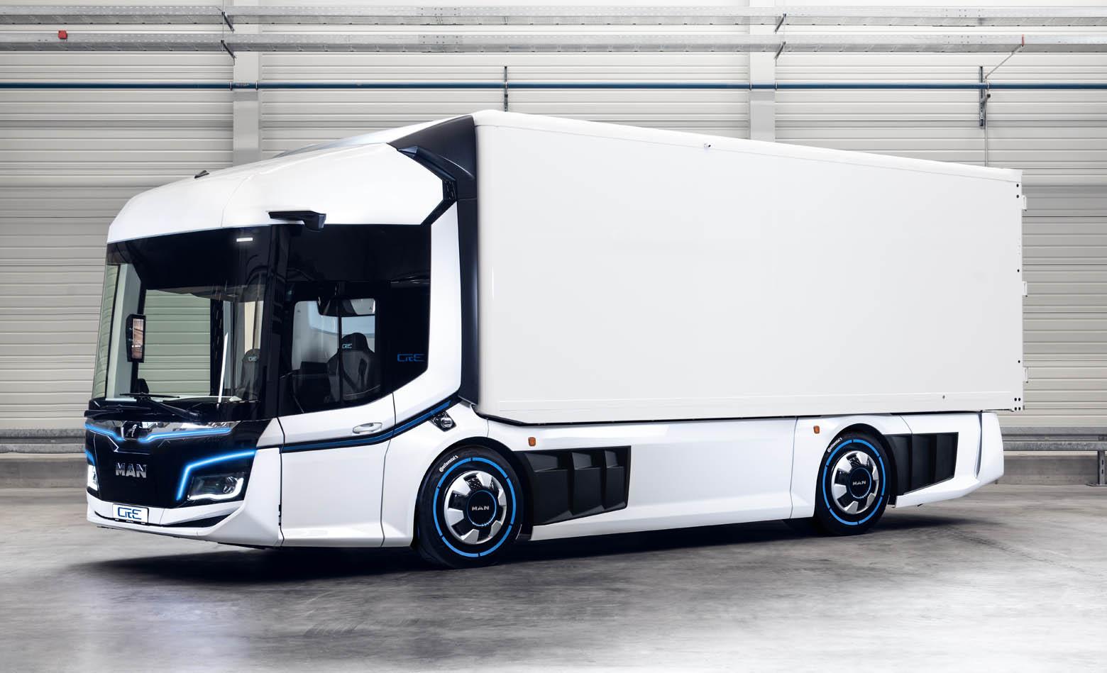 Električni gradski kamion