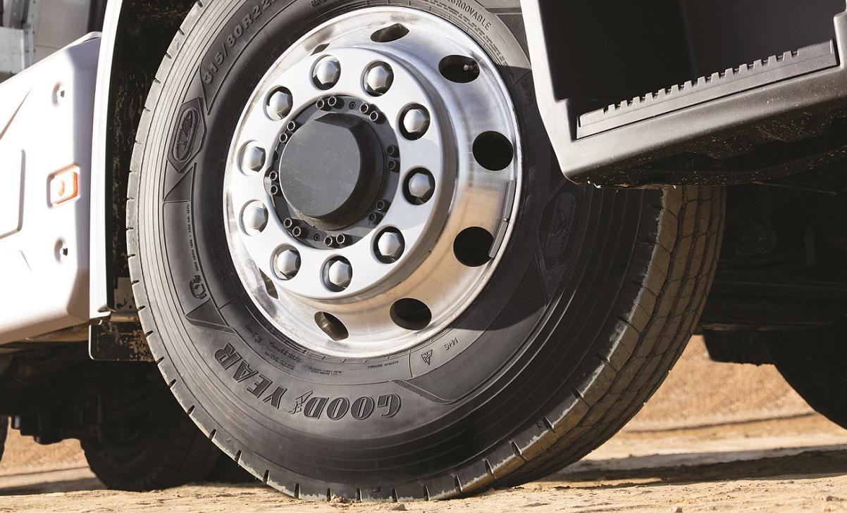 Prva serija tovornih pnevmatik s tehnologijo DuraShield