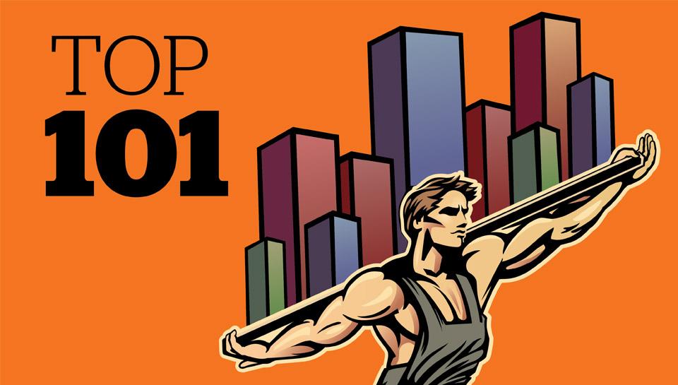 TOP 101: Katera so najboljša med največjimi slovenskimi podjetji