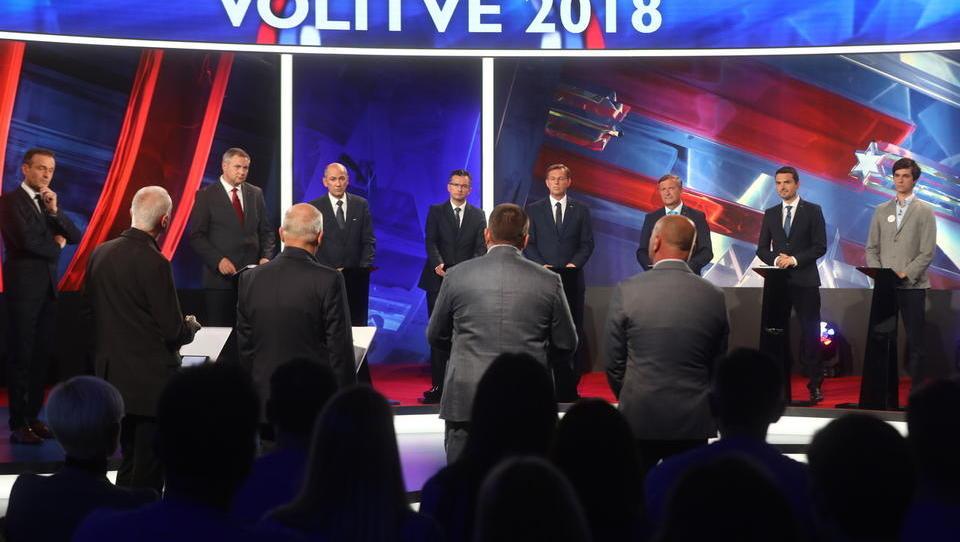 Predvolilno soočenje na POP tv: prvaki strank odgovarjajo podjetnikom