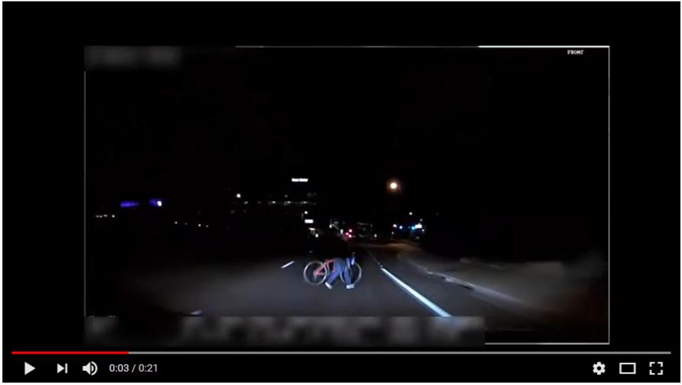 (video) Policija objavila posnetek nesreče Uberjevega samovozečega vozila