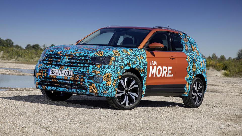 VW draži s T-crossom, malim SUV s prostorno kabino