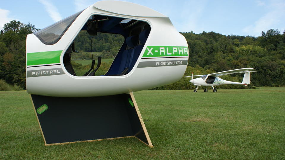 Najpodjetniška ideja: Trboveljski Aereform skrbi za šolanje pilotov z VR-očali
