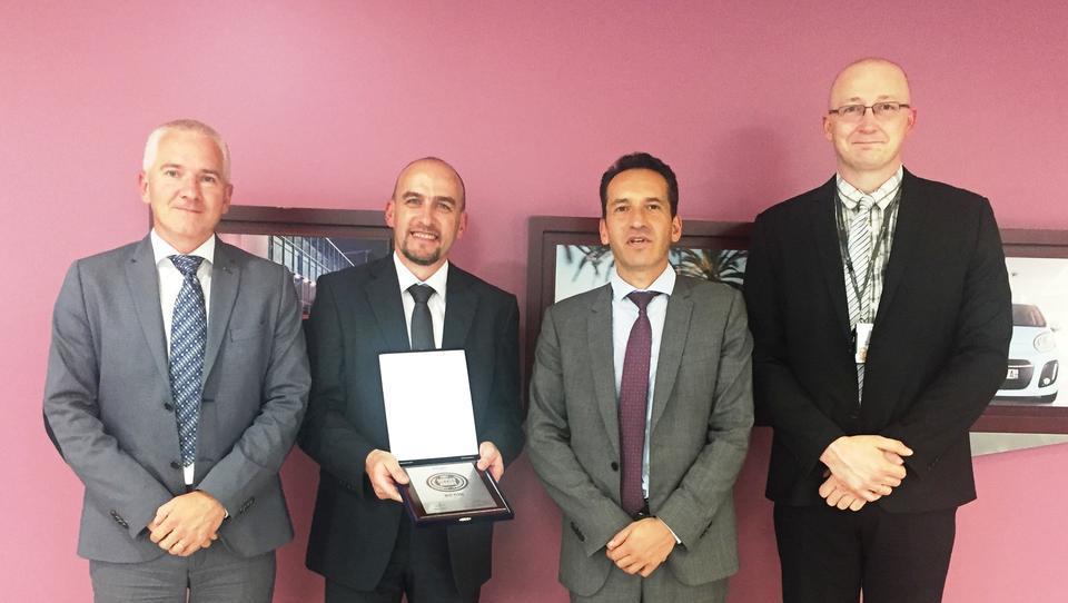 Hidria dobila priznanje PSA Peugeot Citroena