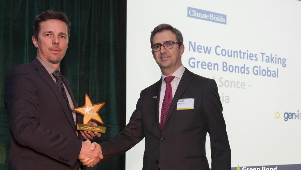 Obveznica GEN-I prejela mednarodno nagrado