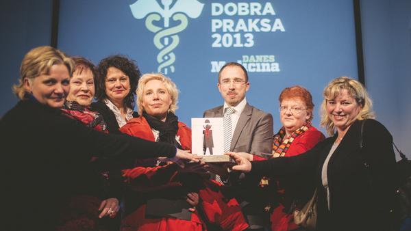 Dobra praksa 2013: inovativni prirejeni model skupnostne psihiatrične obravnave
