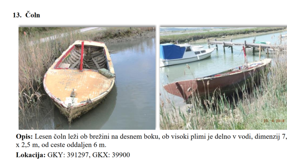 Lastniki, odstranite opuščene čolne. Sicer bo odstranitev plačal minister.
