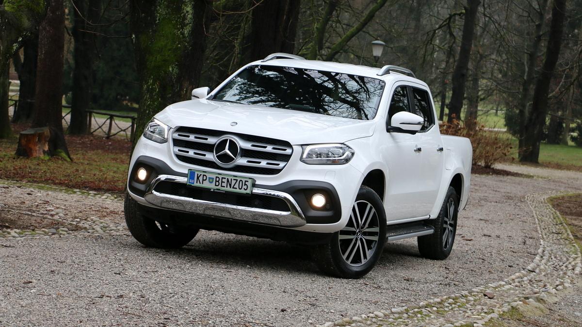 Mercedes z X pogumno vstopa v svet pickupov