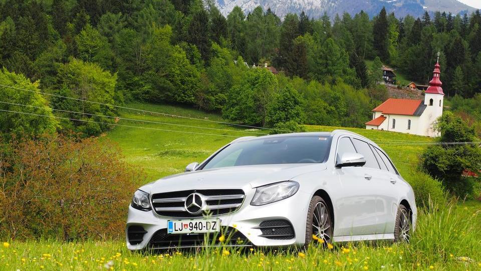 (foto) Mercedes razreda E: šest vrlin, ki so ga znova popeljale na vrh