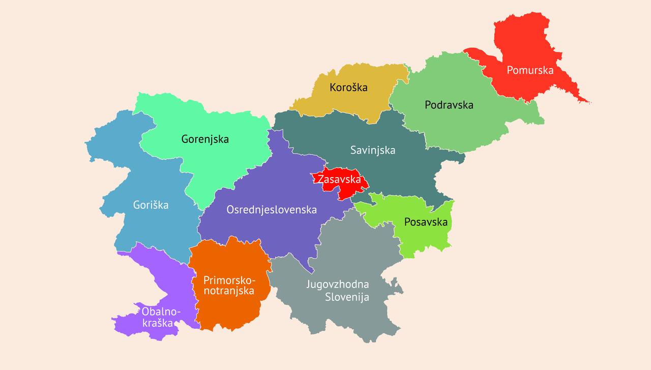 Zakaj je BDP na prebivalca v osrednji Sloveniji 27.644 evrov, v Zasavju pa 10.443