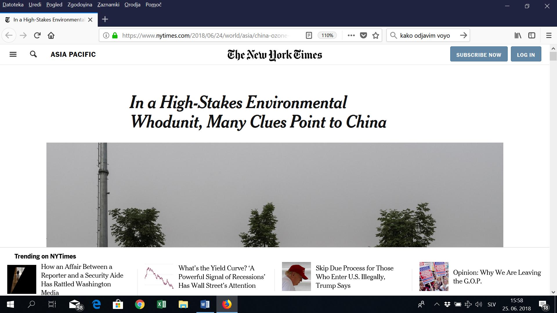 Globalni alarm je pomagal: našli izpuste, ki uničujejo ozonsko plast