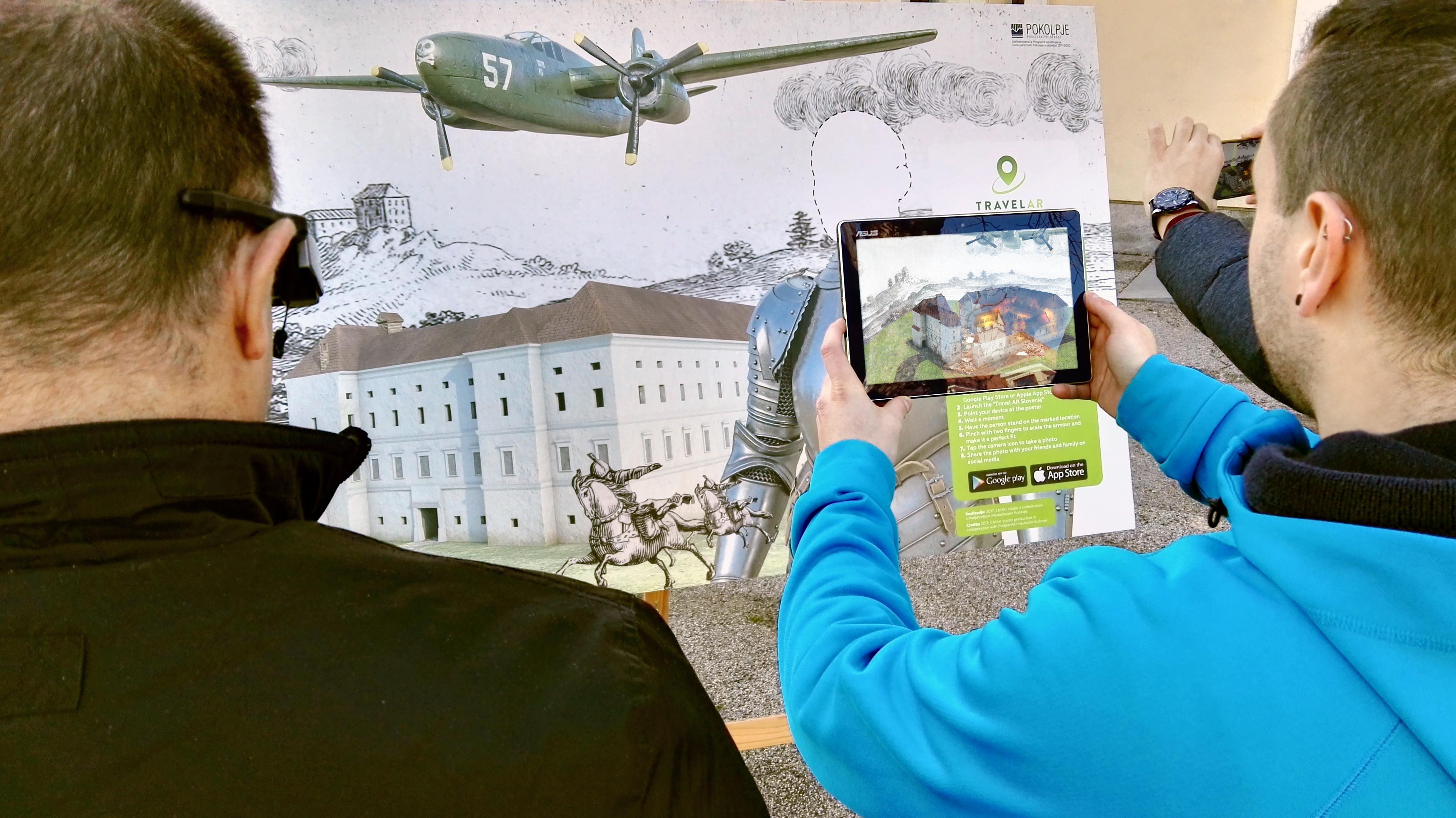 Kočevci in Belokranjci s tehnologijo AR navdušili Epson