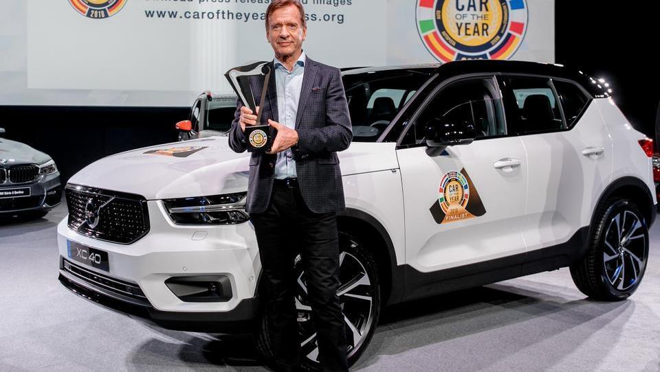 Volvo XC40 je evropski avto leta 2018