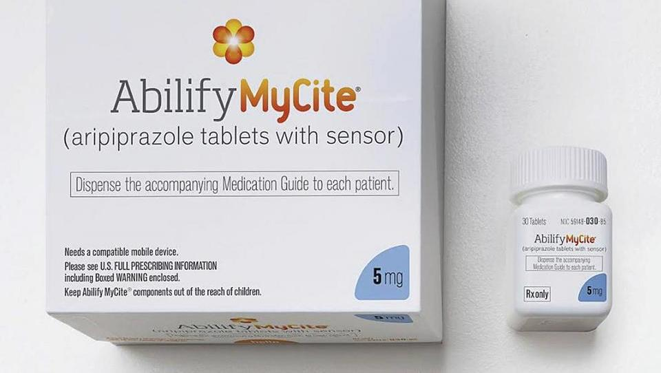 »Tukaj Abilify MyCite, javljam se iz debelega črevesja«