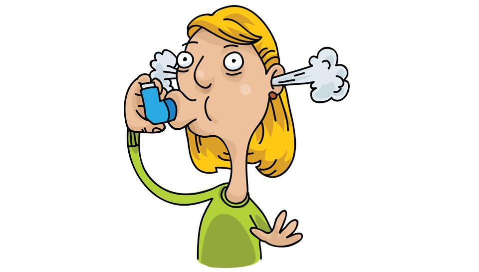 Četrtina astmatikov ne sodeluje pri zdravljenju