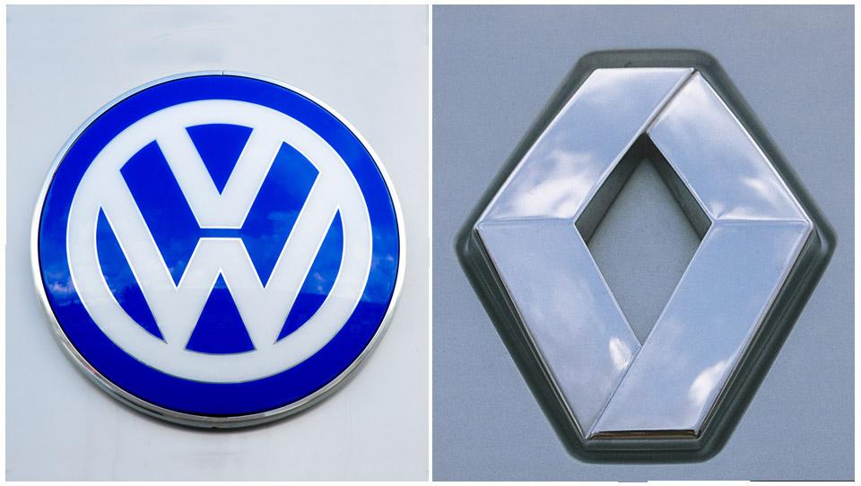 Tržni deleži: VW izgubil, Renault dobil