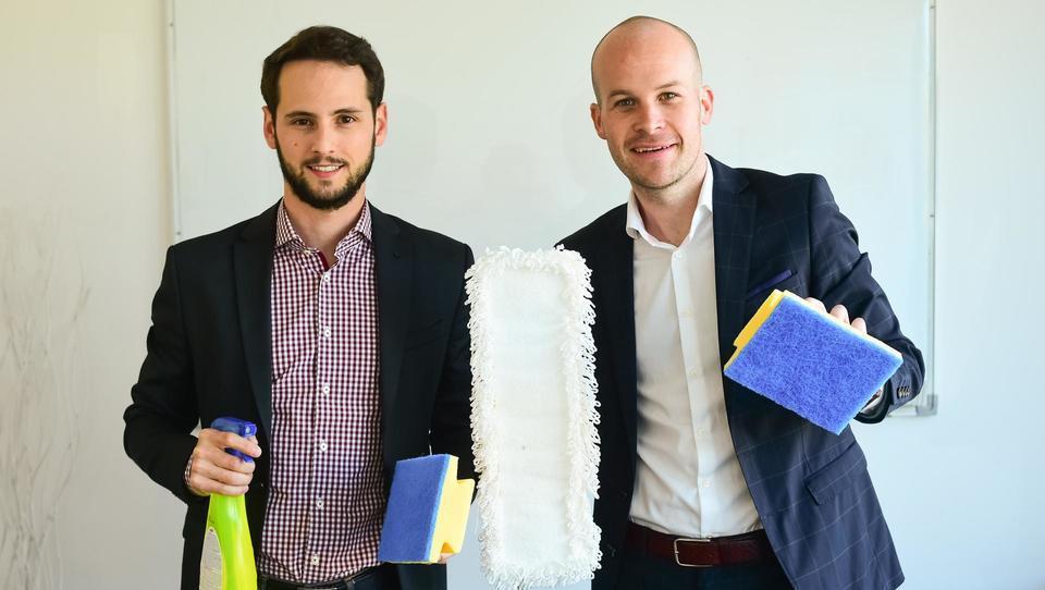 Kako so mladi Ljubljančani z metlami postali start-up leta