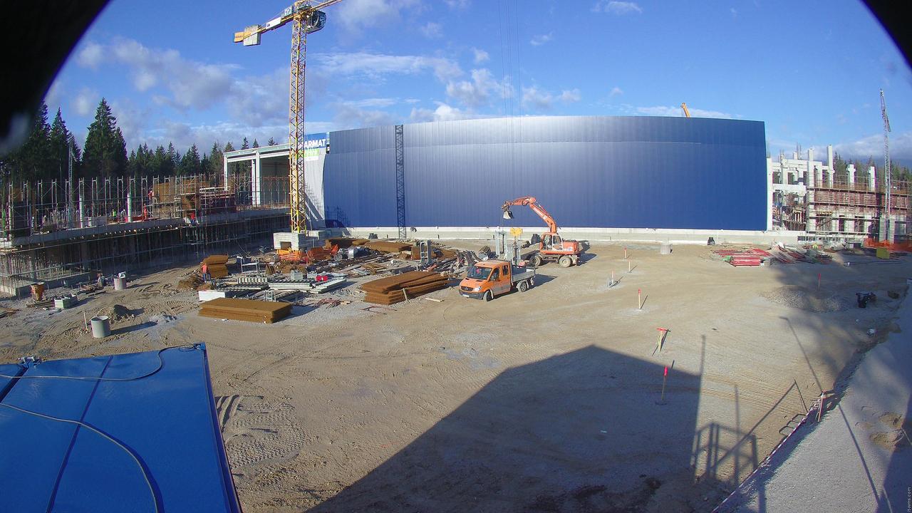 Kako raste nov logistični center na Brniku