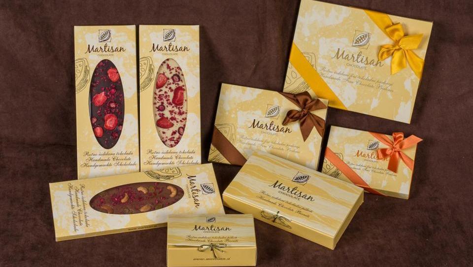 Kmalu v prodaji nove čokolade s polnilom Martisan Chocolate