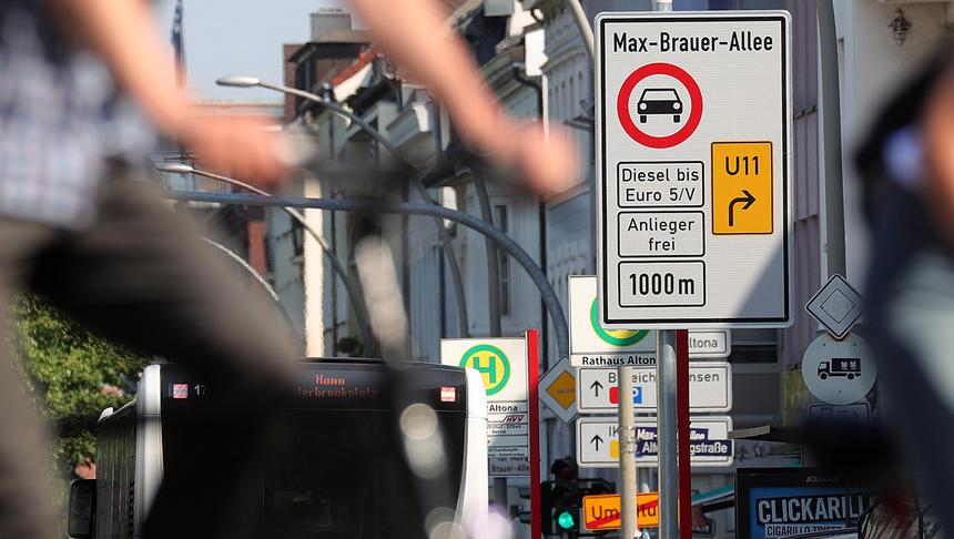 Nemčija: subvencije za zamenjavo starejših dizlov v najbolj prizadetih mestih