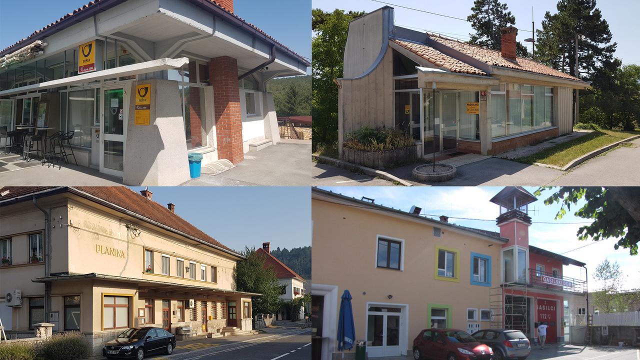 Na spletno dražbo šest poštnih poslovalnic na Primorskem