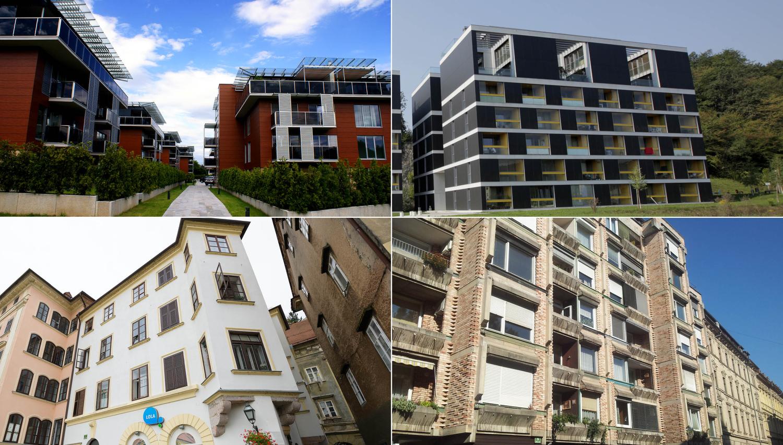 Stanovanja v Ljubljani, ki jih boste lahko novembra kupili na dražbah