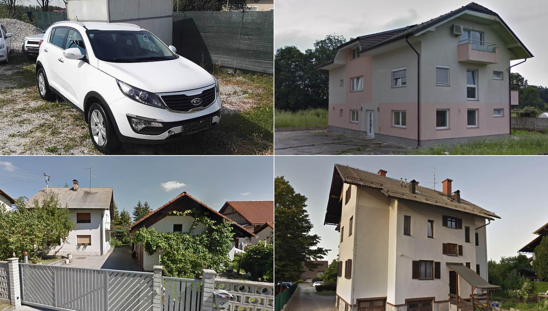 TOP dražbe: Hiša v Ljubljani, stanovanja v okolici Ljubljane in Kranja, kia sportage in BMW serije 5