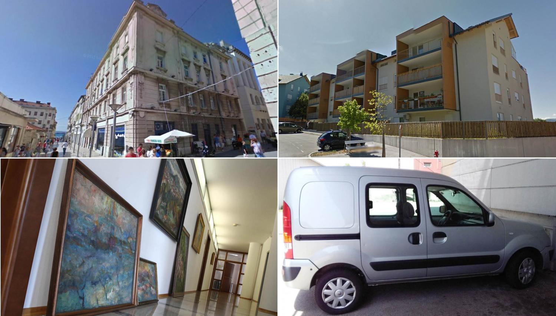 TOP dražbe: stanovanja v Postojni, apartma v Splitu, pisarne, umetnine, renault kangoo