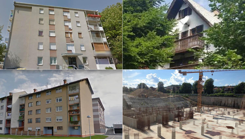 TOP dražbe: stanovanji v Ljubljani in Ribnici, vikendica na Pohorju, zemljišče v Domžalah, Tobačna, ...