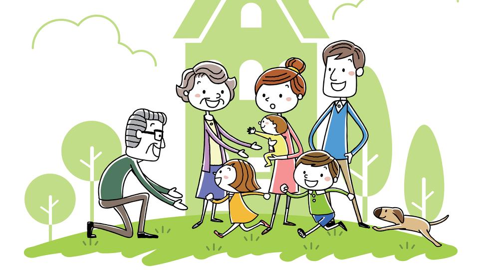 Živeti z družino pri starših. Uredite odnose, da ne poči!