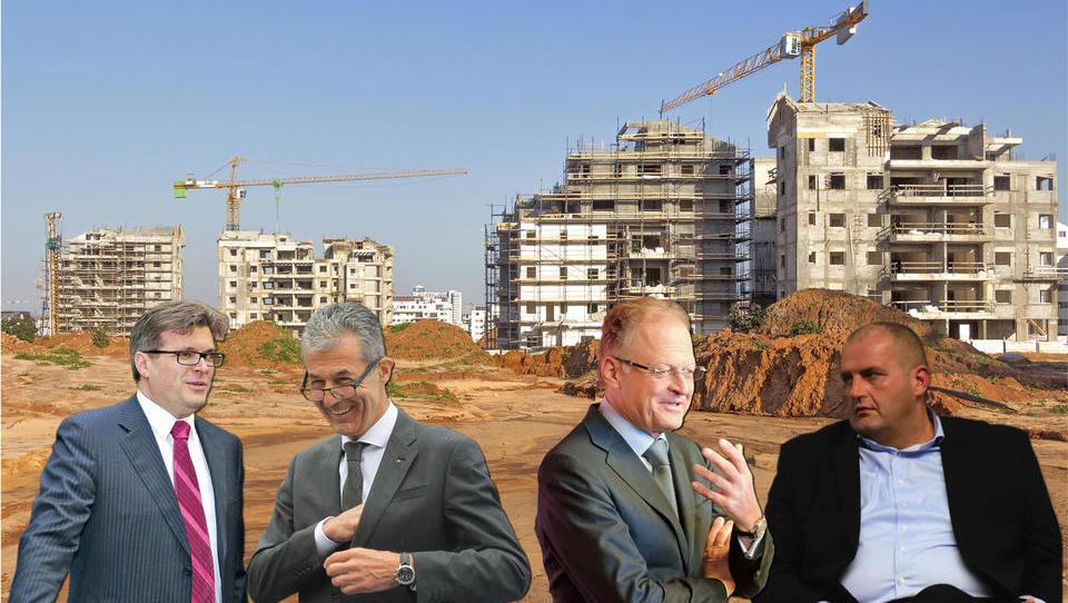 Bilance gradbincev: zmagovalca Petrič in Južna, poraženca Škrabec in Miklavčič