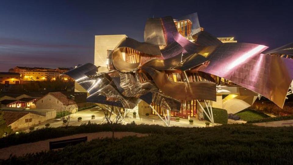 Klet Marqués de Riscal: drzni vinarsko-arhitekturni eksperiment