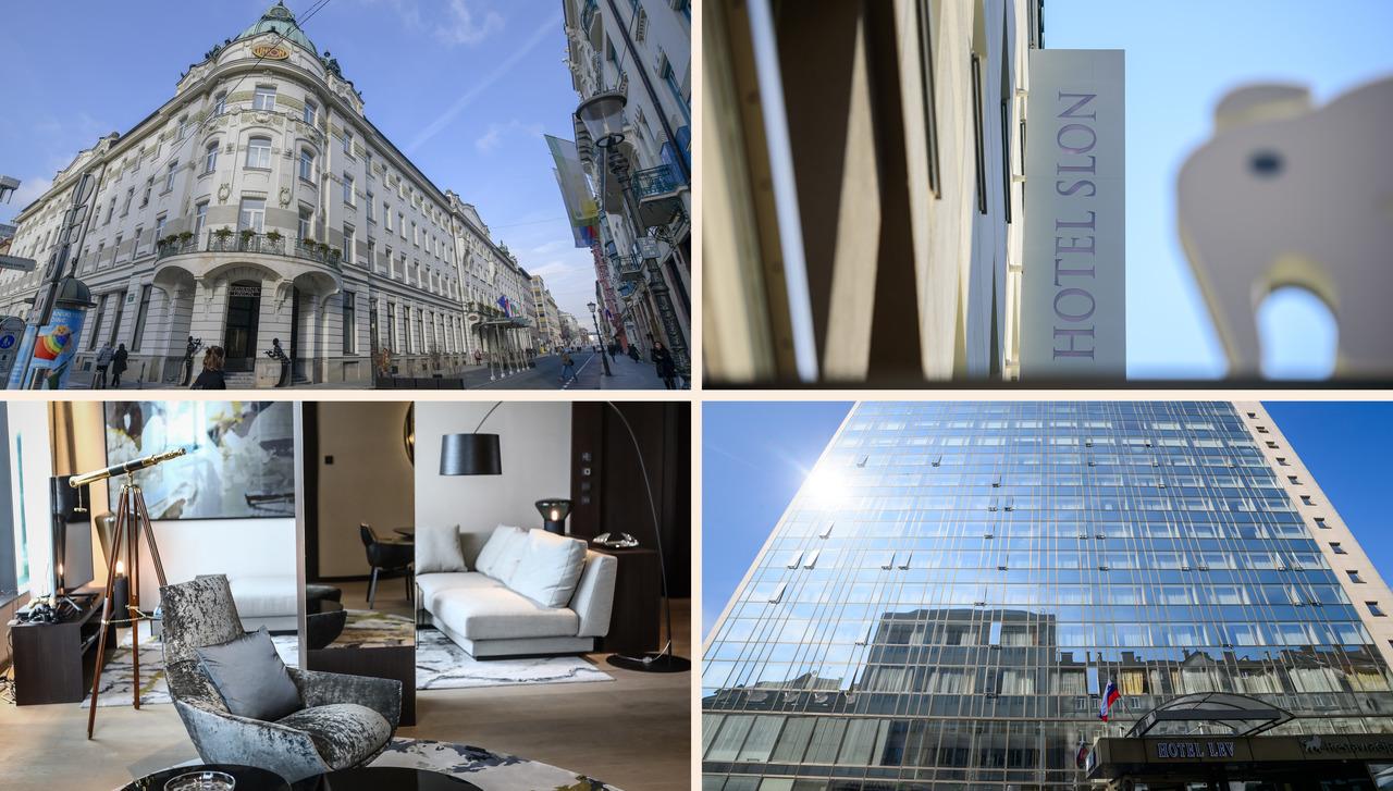 Zakaj se je lani zvišala vrednost ljubljanskih hotelov