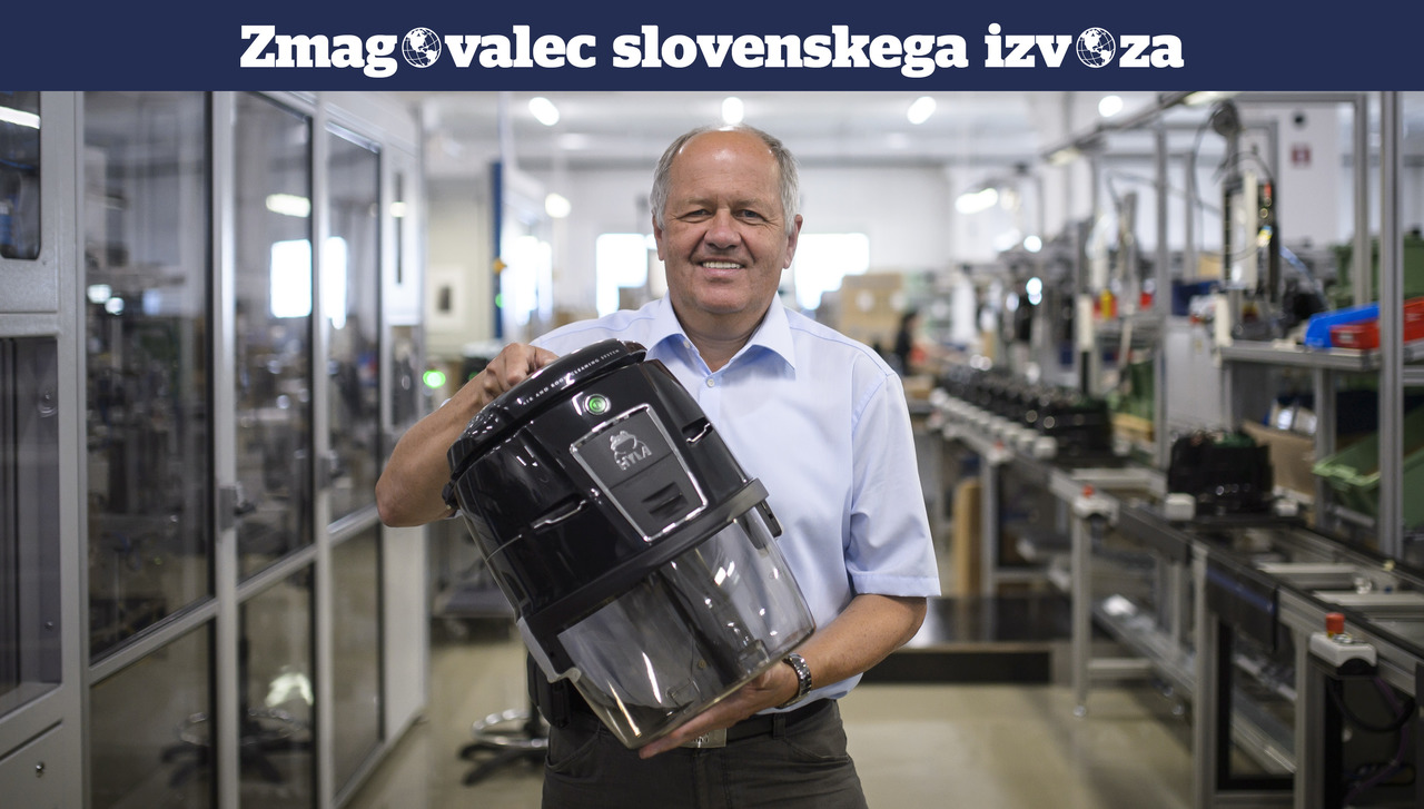 Kako je proizvajalec sesalnikov iz Ljubljane vstopil na 70 trgov in postal prvi na svetu