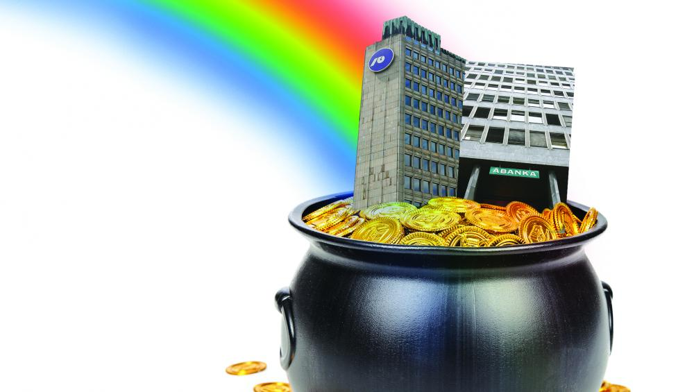V kakšni kondiciji pred verjetno prodajo sta prva in tretja največja banka?