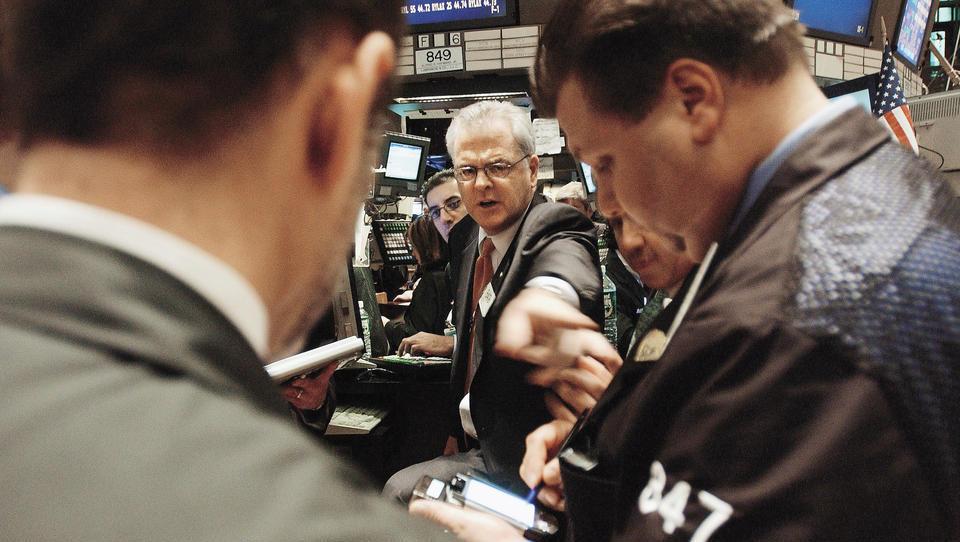 Newyorške borze uvodoma upadle