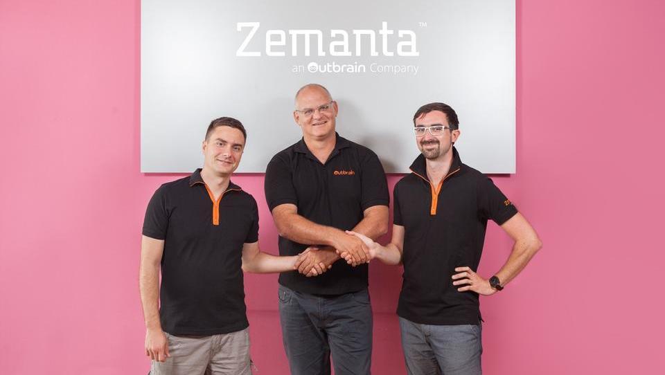 Prelomnica za start-up sceno: Špetič in Tori prodala Zemanto!
