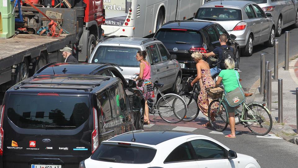 Evropski teden mobilnosti letos v polnem sijaju stavke voznikov...