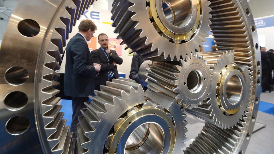 Industrijski sejem v Hannovru: človek v središču tovarne...