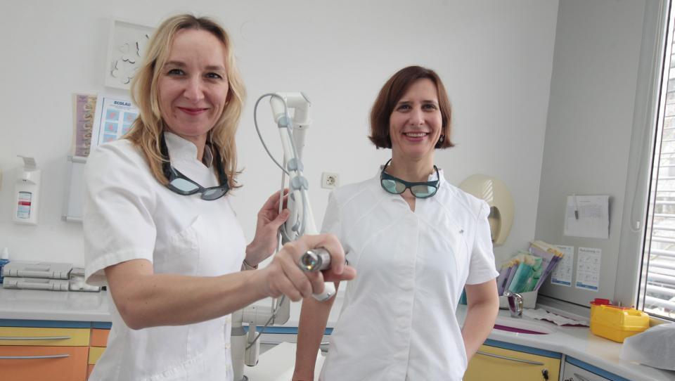 Z laserjem nad inkontinenco in zdrs medeničnih organov
