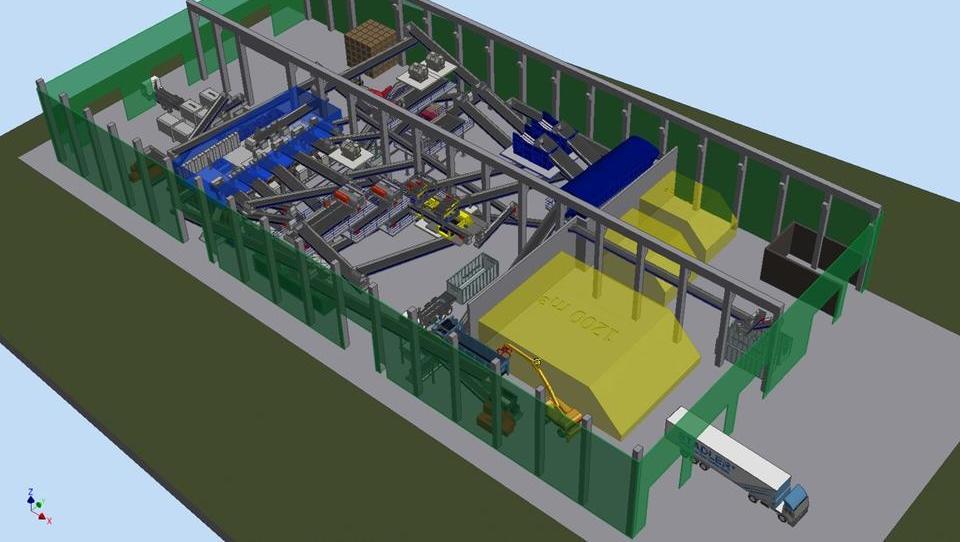 V Mariboru začetek preverjanja učinkovitosti strojnega ločevanja odpadkov