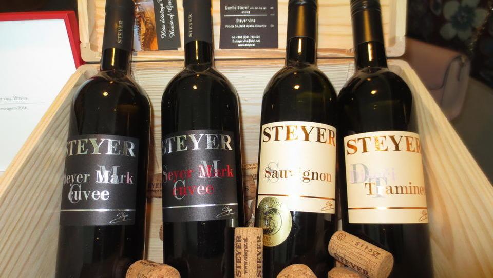 Vinska klet Steyer želi pridelati sto tisoč buteljk vina na leto