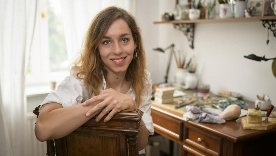 Hana Stupica, ilustratorka: rišem, odkar pomnim