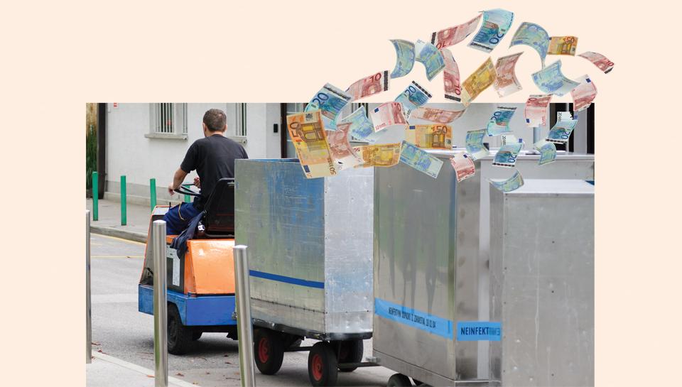 Kako je iz UKCL vsaj šest let frčal denar za interne prevoze