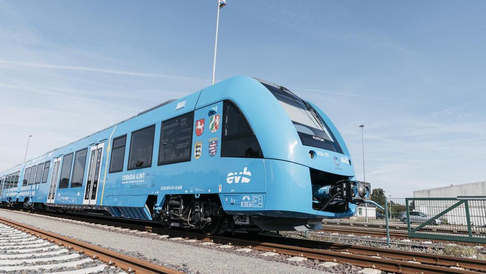 V Nemčiji vozi prvi vlak na vodik na svetu