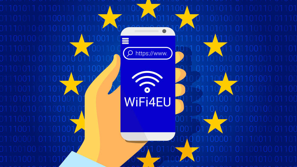 Občine, od danes se lahko prijavite na razpis WiFi4EU