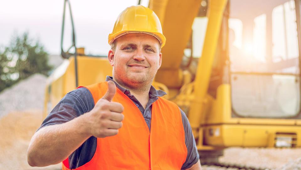 Kazalnik zaupanja v gradbeništvu najvišji v devetih letih
