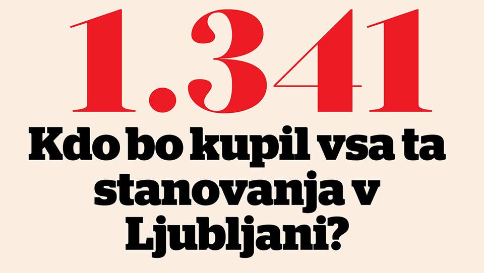 Kdo bo kupil vsa ta stanovanja v Ljubljani?