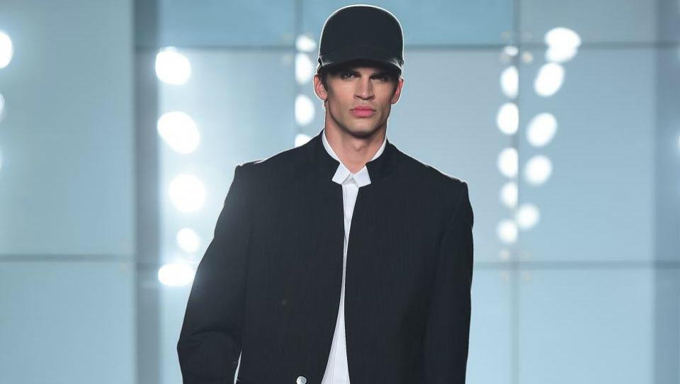 Moški na ljubljanskem tednu mode